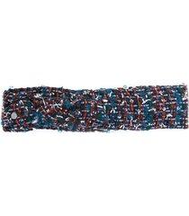 tweed headband