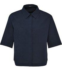 opus blouse met korte mouwen friedi stripe