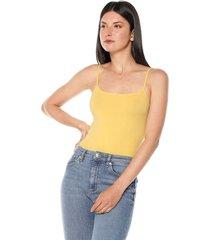 camiseta esqueleto amarilla active