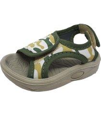 sandalia verde keek