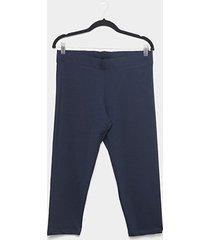 calça legging plus size naif pescador feminina