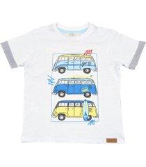 camiseta con estampado en en frente