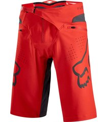 pantaloneta bermuda fox ciclismo mtb downhill enduro mx  color roja