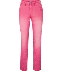 jeans boyfriend con effetto stropicciato (fucsia) - john baner jeanswear