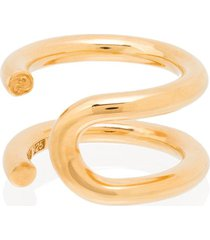all blues u-turn wraparound ring - gold