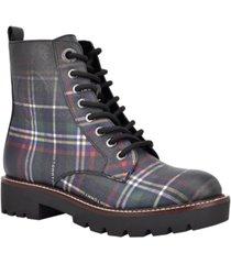 tommy hilfiger lamiz lug sole booties women's shoes