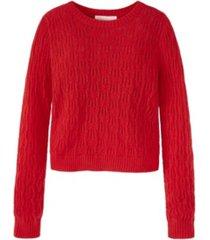 adyson parker women's pointelle sweater