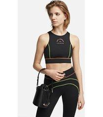 karl lagerfeld women's k/charms small bucket bag - black