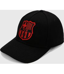 gorra negro-rojo barcelona