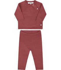 bonpoint pink suit for babygirl