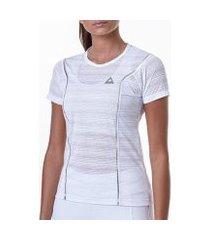 camiseta labellamafia metallic athleisure feminina