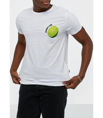 solid joakim ss t-shirt t-shirts & linnen white