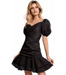 vestido primia kiwa negro