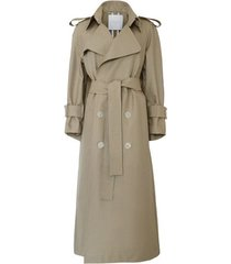 holmes winged double-cotton trench coat