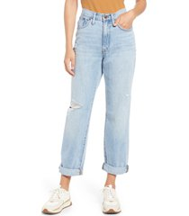 women's madewell relaxed jeans, size 24 - blue