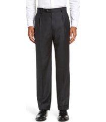 men's zanella bennett straight leg pleated dress pants