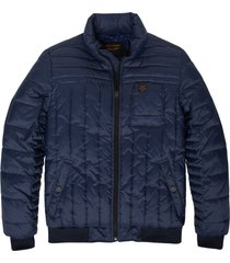 pme legend blauwe winterjas