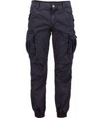 cargobroek scout cargo men blauwe broek (pnt1389-blauw)