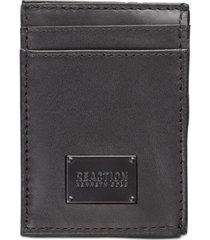 kenneth cole reaction men's front pocket leather wallet