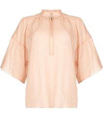 blouse aida  roze