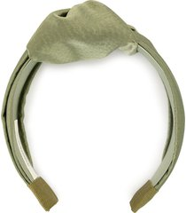 jennifer behr textured headband - green