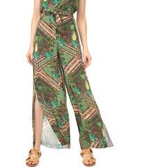 calça blue man pantalona tropical verde