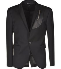 les hommes single breasted blazer