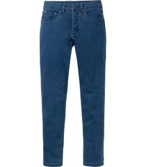 jeans termici superstretch slim fit straight (blu) - rainbow