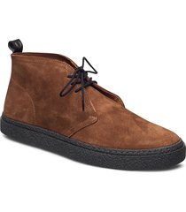 hawley suede desert boots snörskor brun fred perry