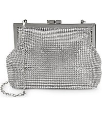 crystal-studded pouch clutch