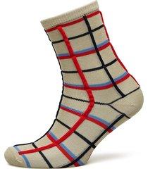 dean summer check lingerie hosiery socks multi/mönstrad becksöndergaard