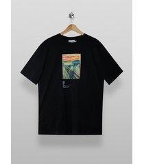 mens black scream t-shirt