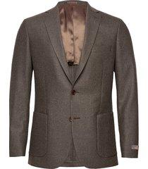 flannel jacket blazer kavaj brun morris