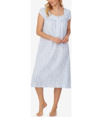 eileen west printed cotton jersey nightgown
