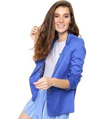 blazer azul mochi gardenia