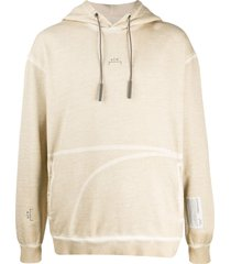 a-cold-wall* faded logo print hoodie - neutrals