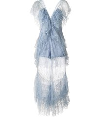 alice mccall magicians daughter lace jumpsuit - blue