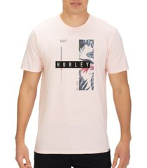 hurley men's space premium logo t-shirt