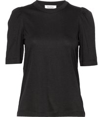 rodebjer dory t-shirts & tops short-sleeved svart rodebjer