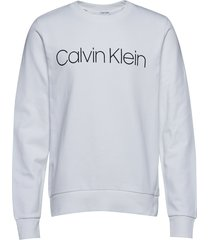 cotton logo sweatshi sweat-shirt trui wit calvin klein