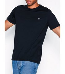 fred perry ringer t-shirt t-shirts & linnen navy