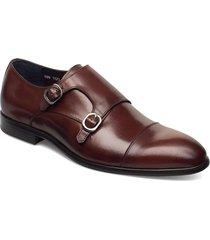 double monk strap shoe shoes business monks brun tga by ahler