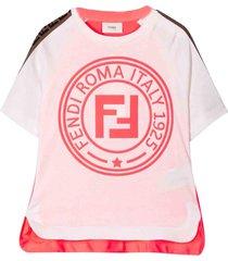 fendi t-shirt with logo ff