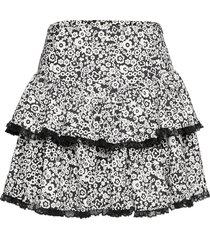 renna kort kjol svart custommade