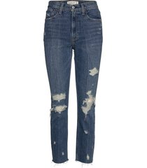 mom jeans jeans mom jeans blå abercrombie & fitch