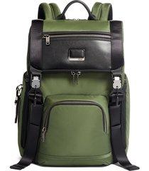 tumi lark backpack - green