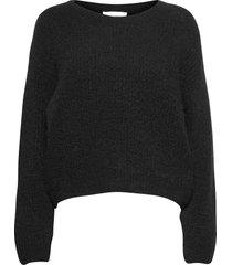 east stickad tröja svart american vintage