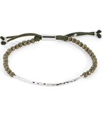 gorjana power gemstone bracelet in strength/pyrite/silver at nordstrom