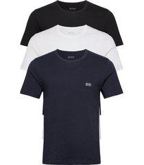 t-shirt rn 3p co t-shirts short-sleeved blå boss