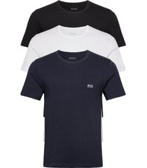 t-shirt rn 3p co t-shirts short-sleeved blå boss